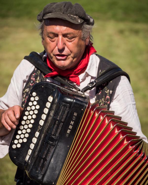accordion man