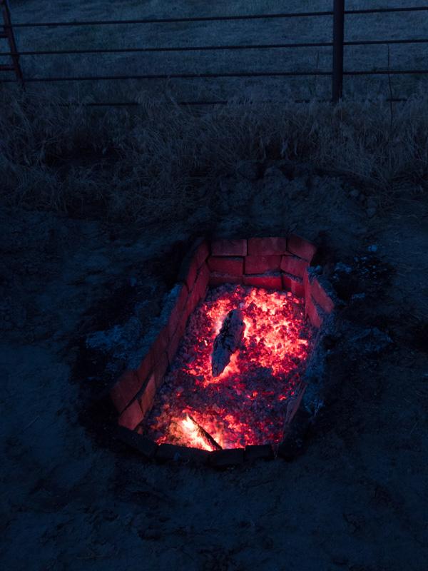 pig roast fire pit