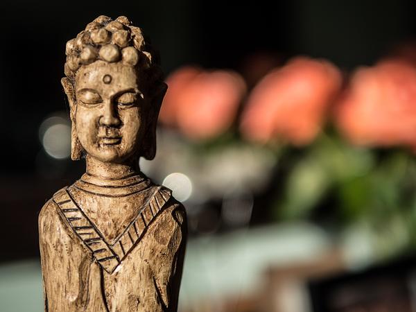 buddha bokeh