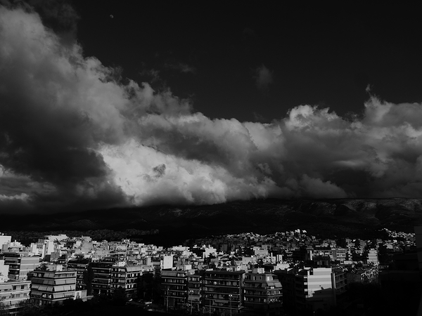 Athens cloud cover