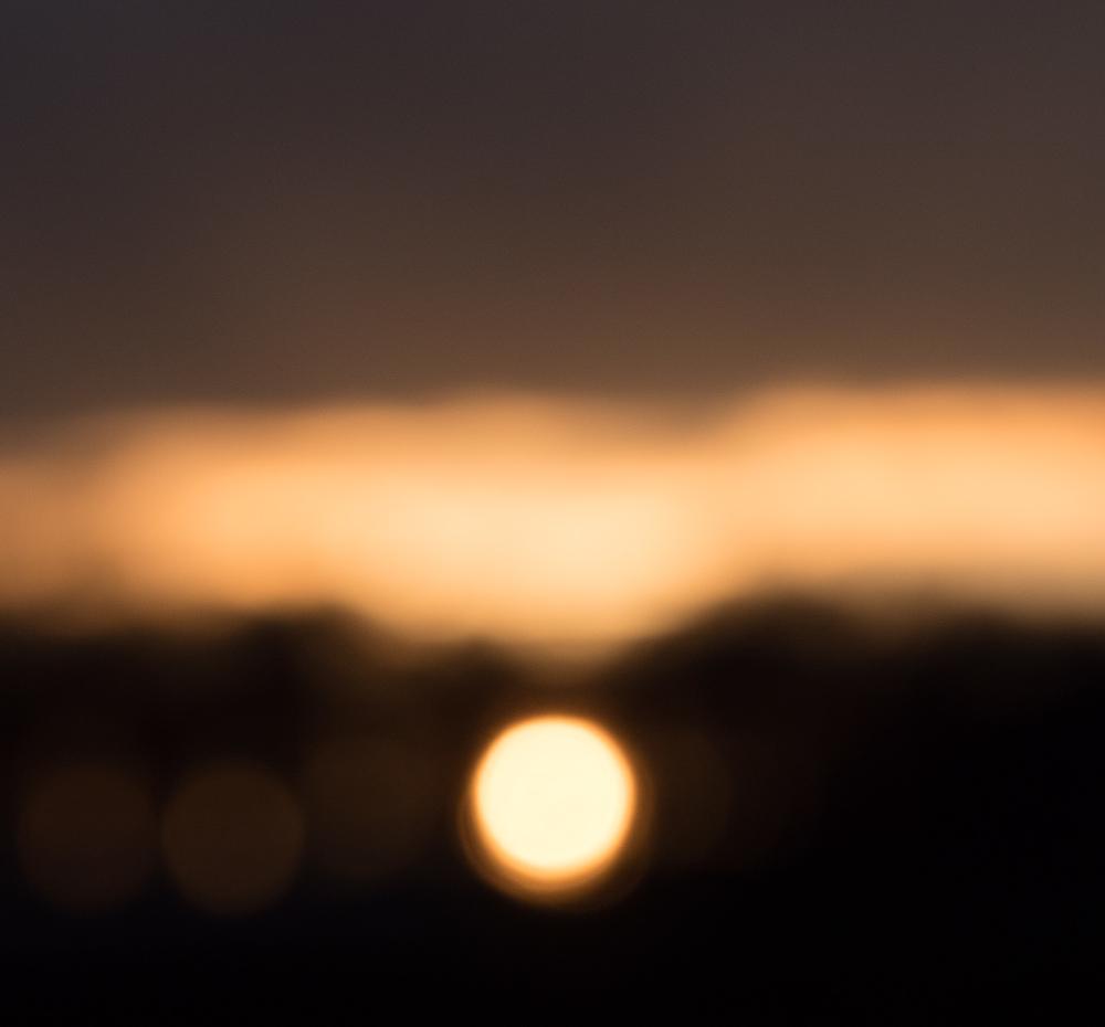 inverted sun