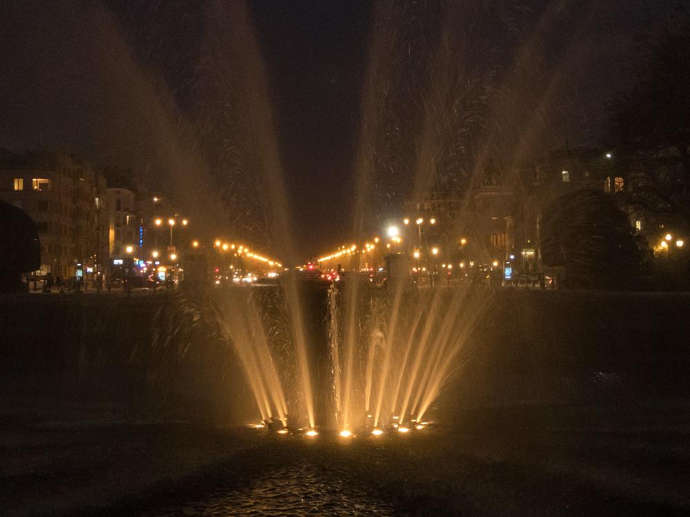 night lights brussels