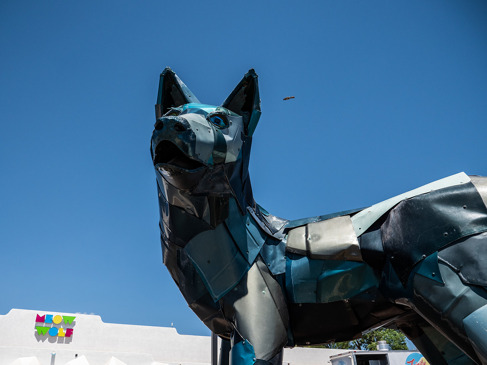 Meow Wolf Santa Fe entrance