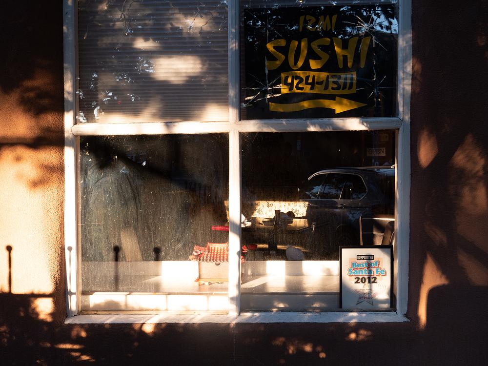 santa fe sushi sunset