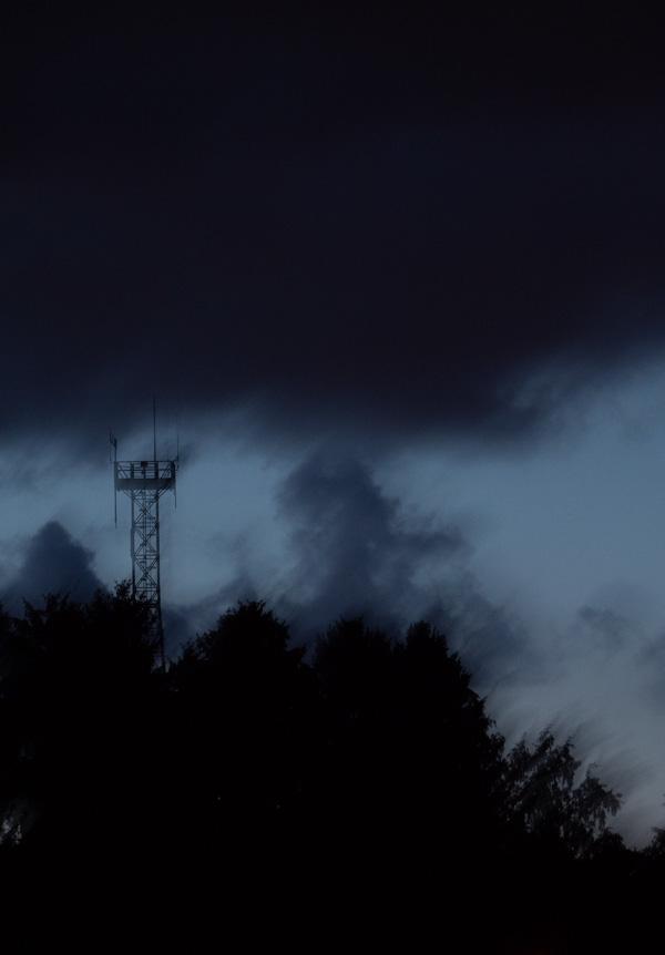 eerie night tower