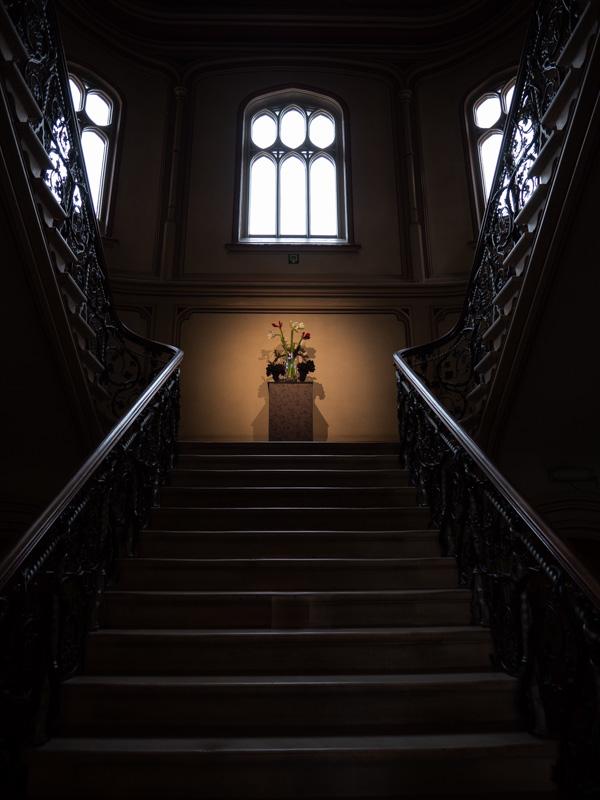 stairway Hoeilaart castle