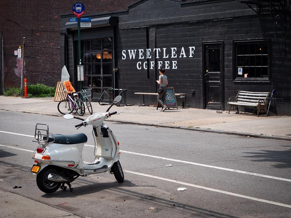 Sweetleaf coffee Brooklyn