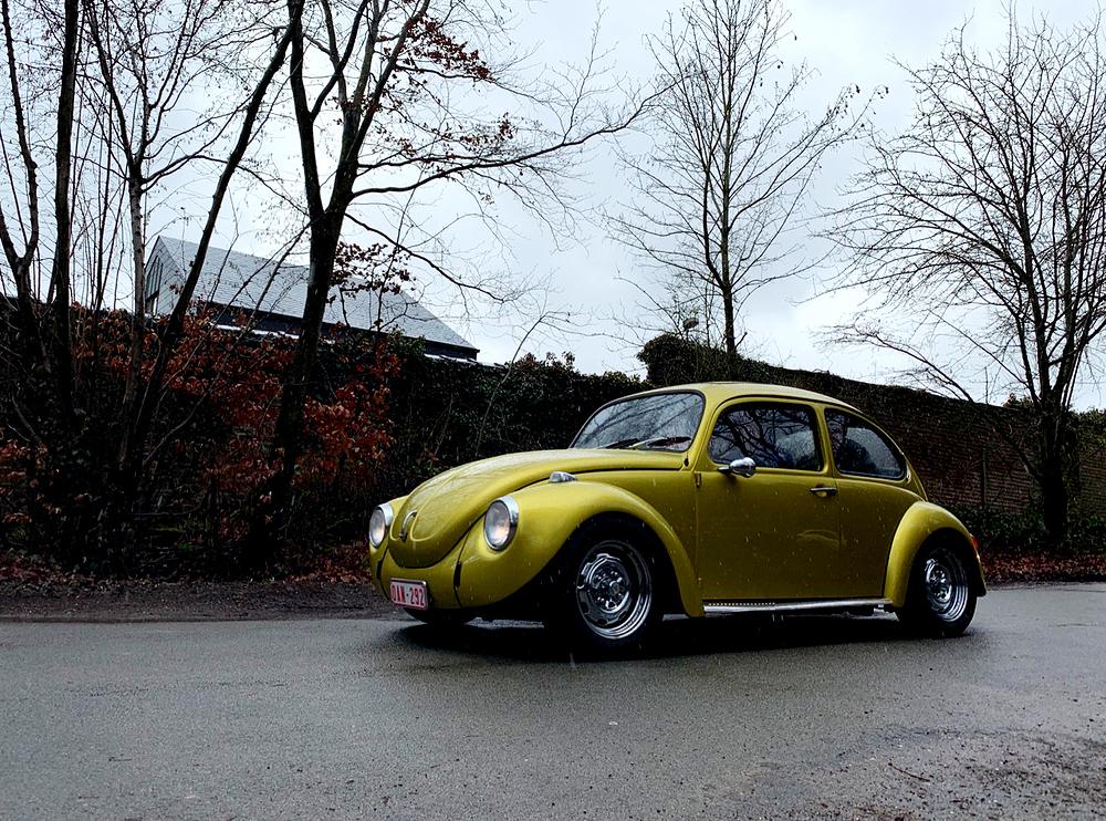 classic Volkswagen bug Brussels