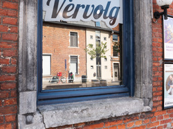 Cafe Vervolg Leuven reflection