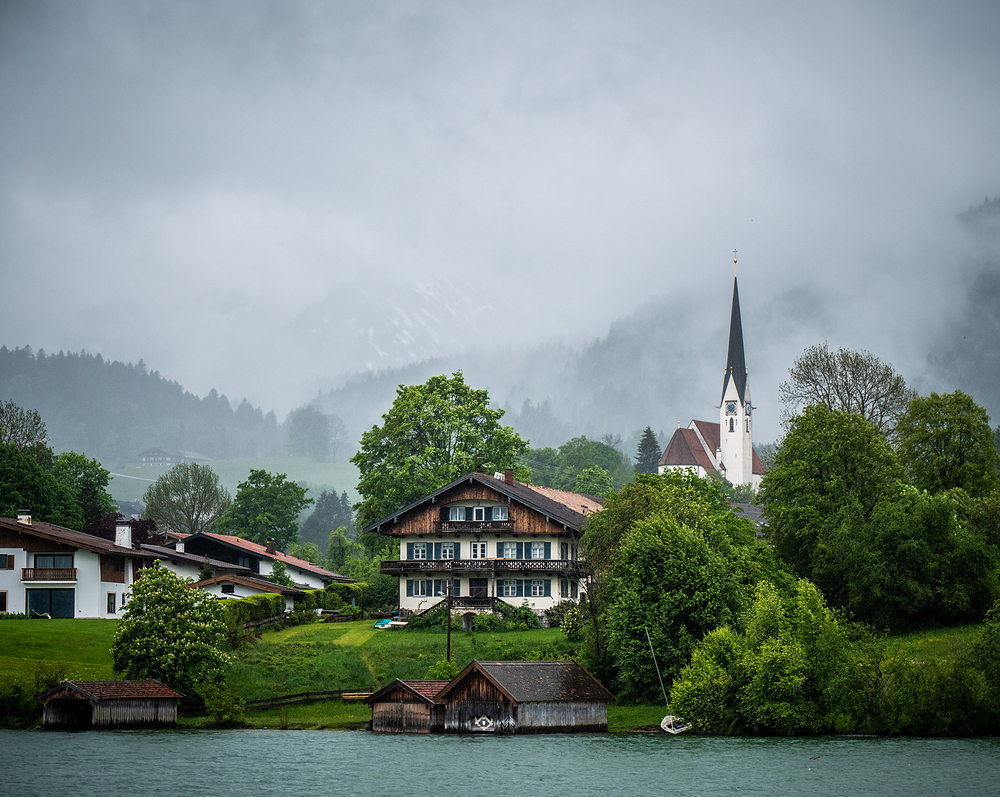 foggy Bad Wiessee