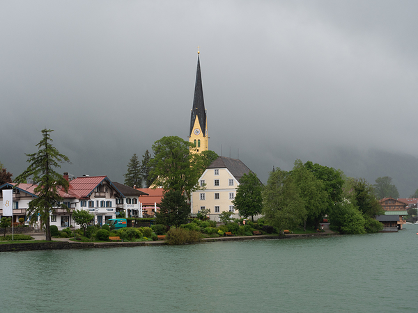 Rottach Egern Church Spire