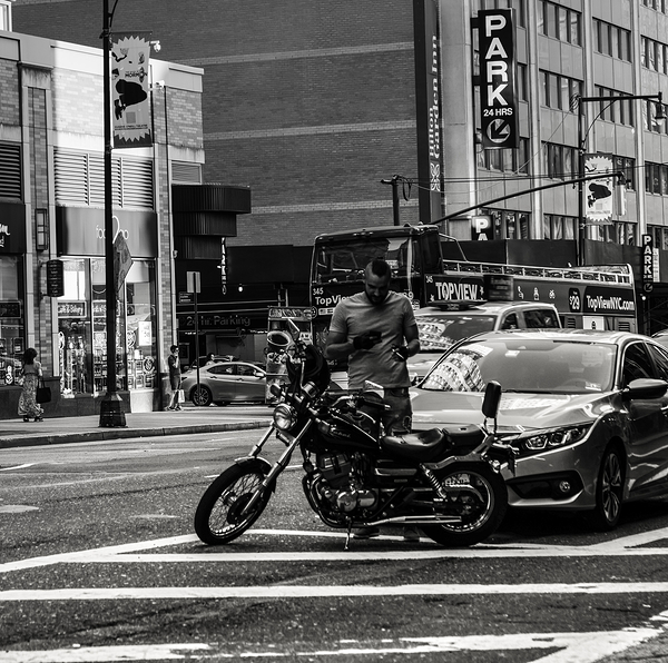 mohawk motorcycle new york city