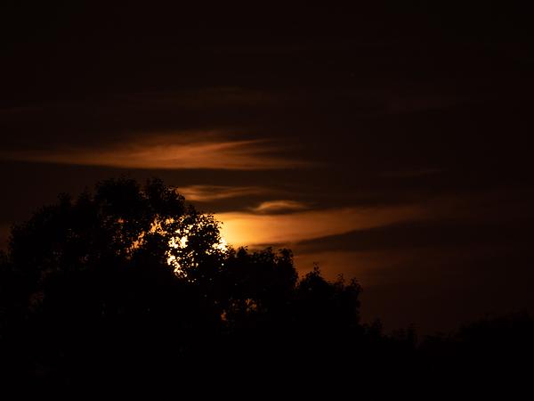 full moon rise
