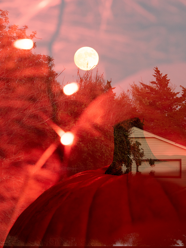 full moon halloween