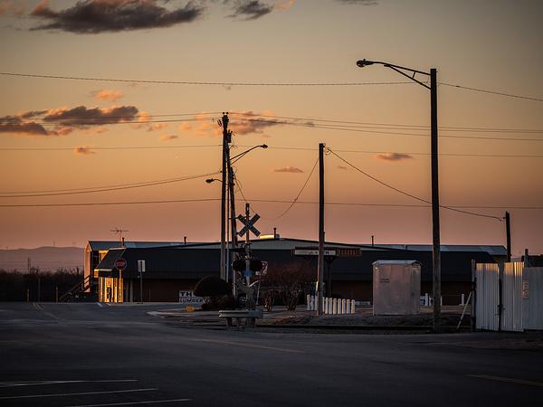 left turn at the last light