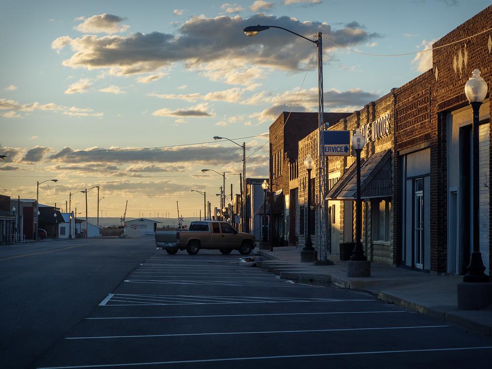 Sunset on Main