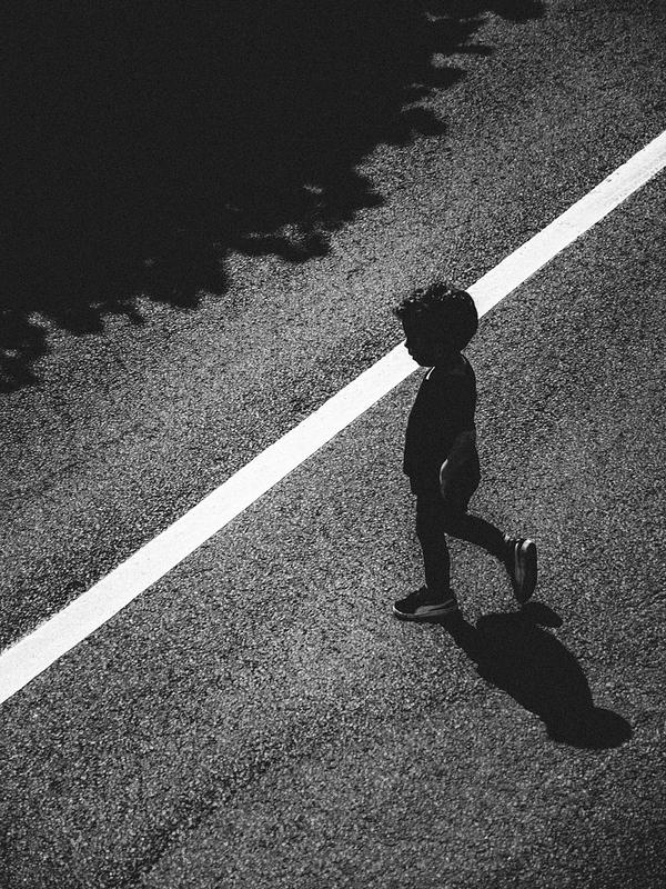 shadows in the street (iii)