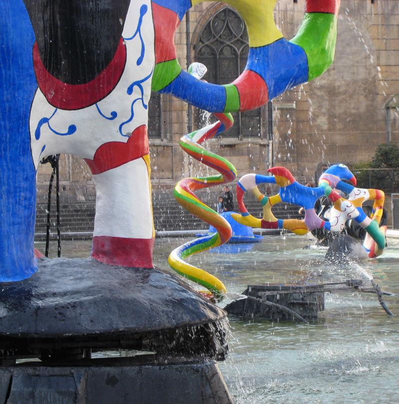 Centre Pompidou artwork