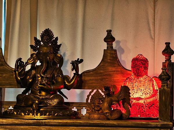 lamps elephant art