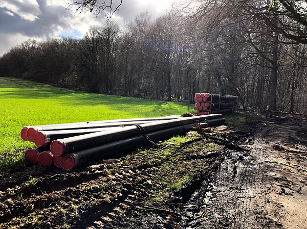 Pipes coming to the forest