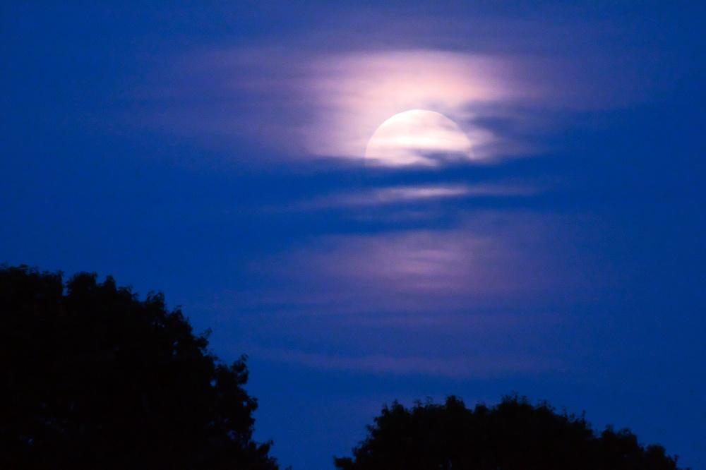 full moon, super moon, June 2019