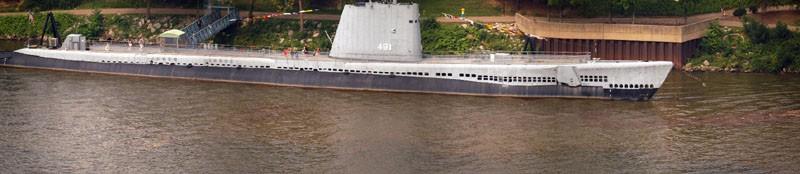 Submarine in Pittsburgh