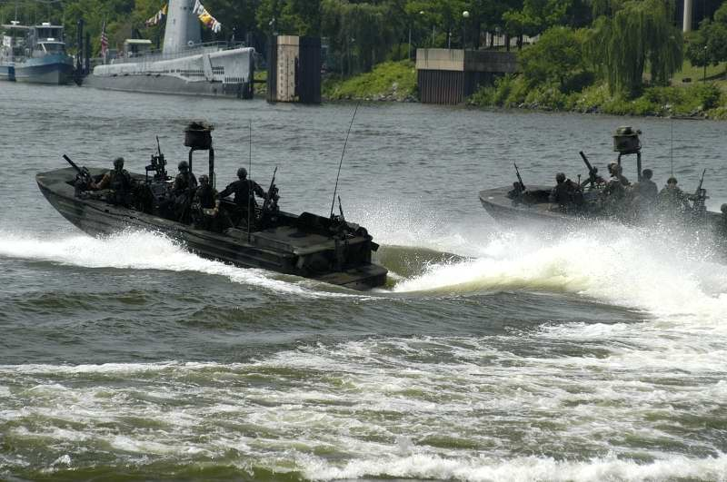 The Army boat