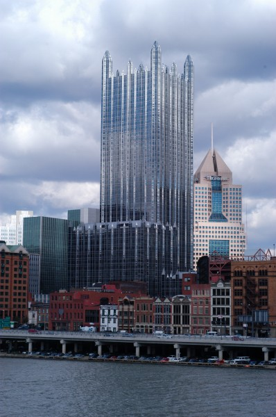 PPG Tower in downtown Pittsburgh