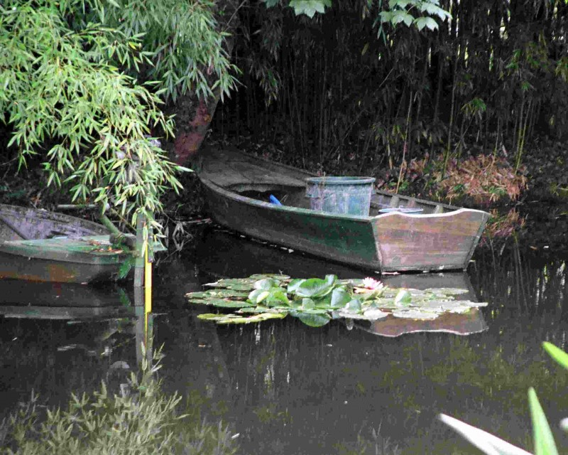 Monet's Rowboat
