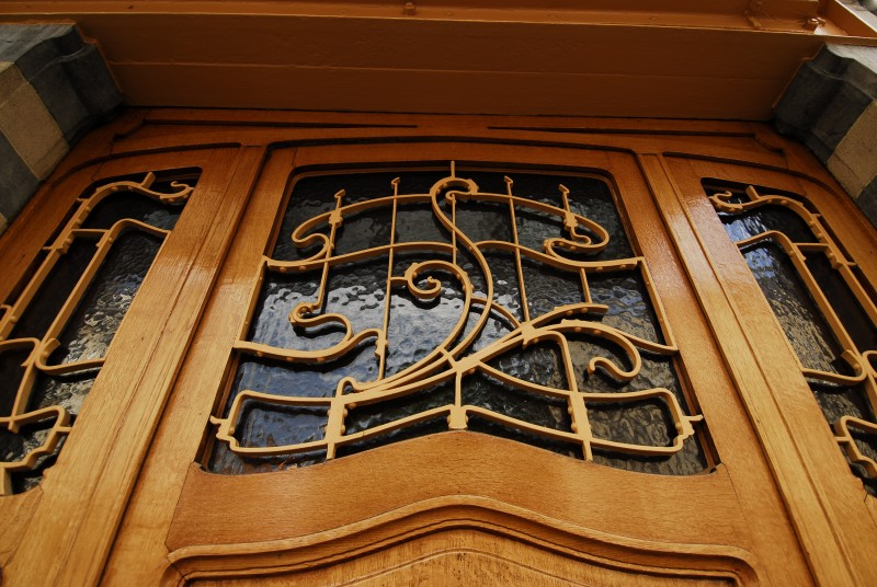 Art Nouveau architectural design