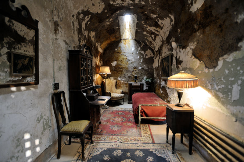 Al Capone's jail cell
