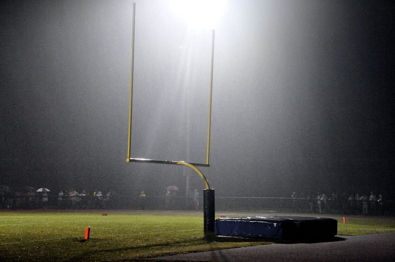 Friday Night Lights, goal post, football