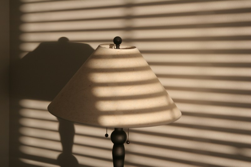 lamp shade shadows