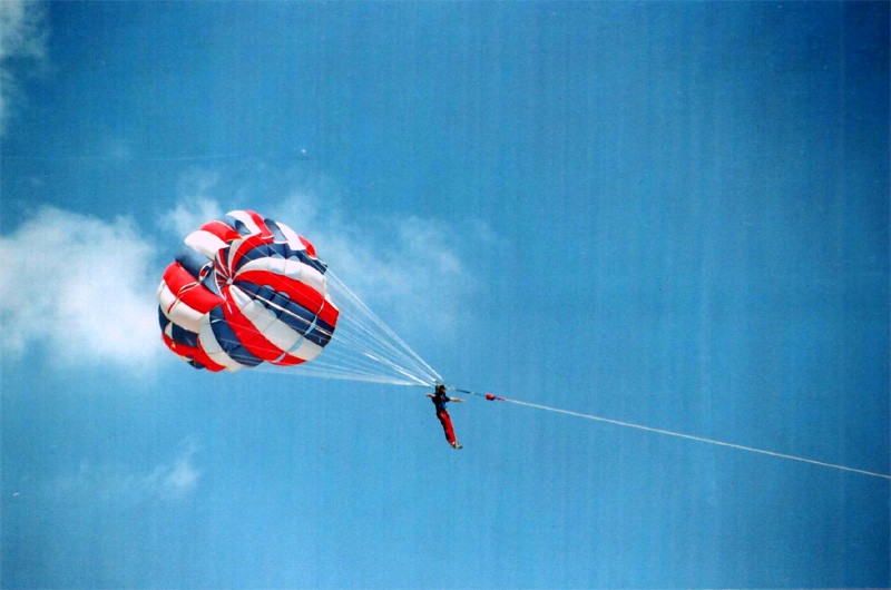 A para glider!