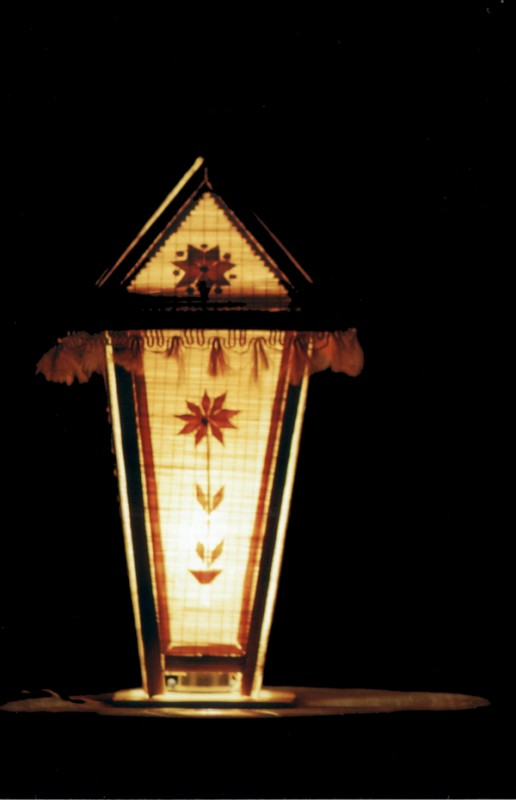 The same bamboo lamp