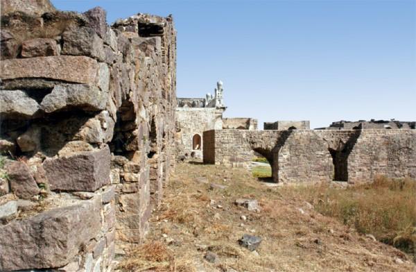 Ruins at Golconda