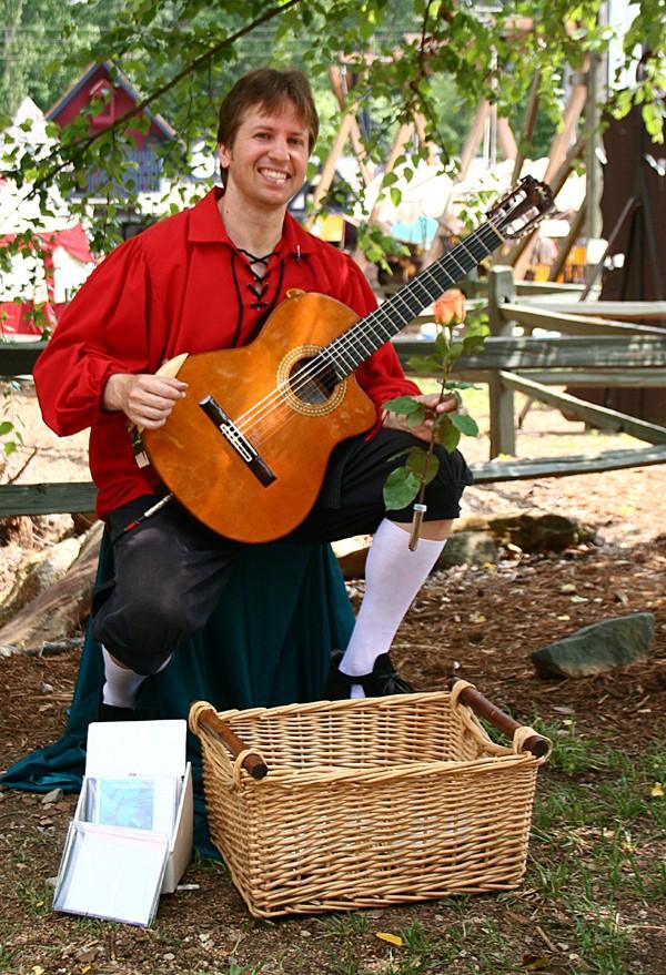 The Guitarist at the Renaissance Fest