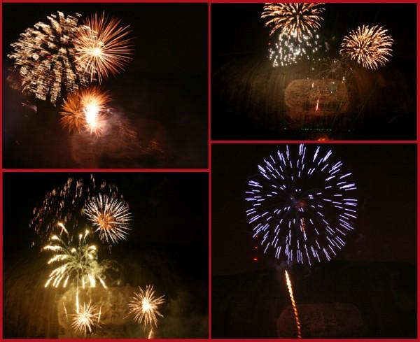 Fireworks at Stone Mountain II