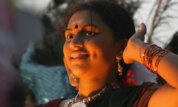 Dancer at the Secunderabad Carnival.
