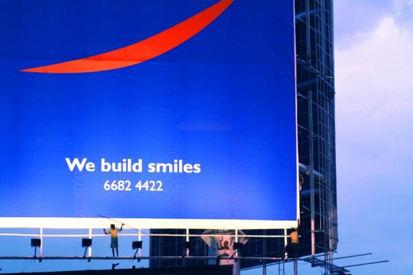 They build smiles!