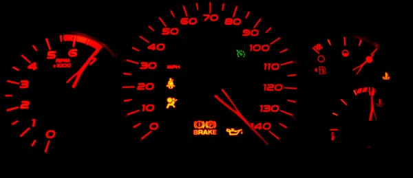 Tachometer! (Guess how?)