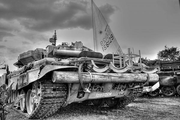 The tank.