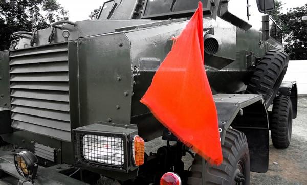An Army truck.
