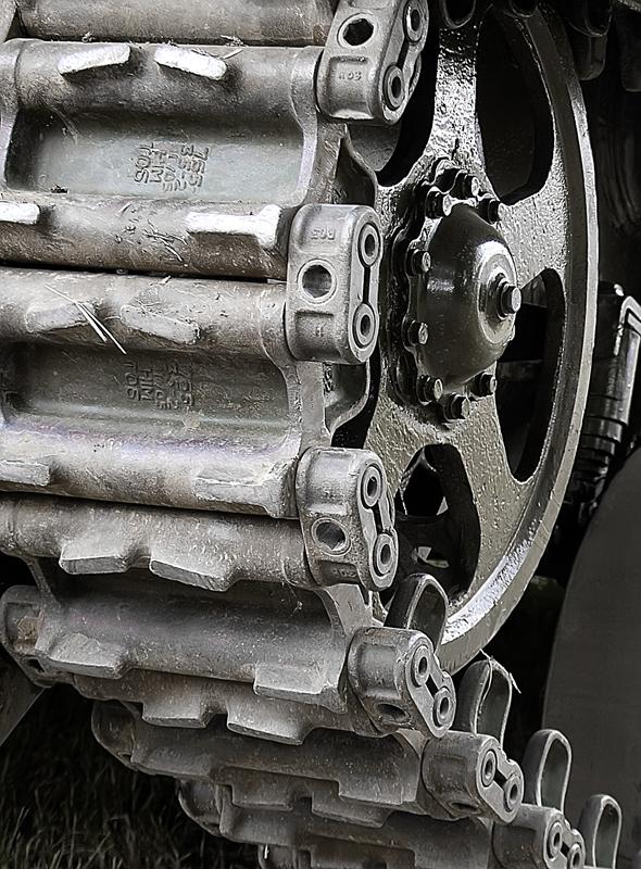 Tank wheel.