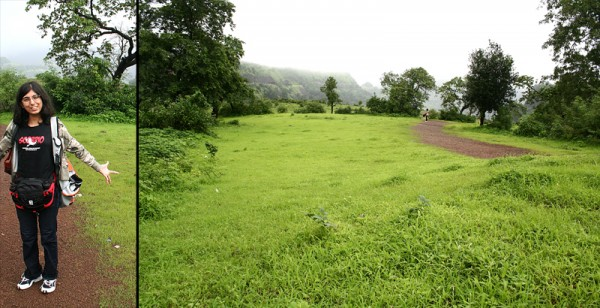 And this is shooting point, Khandala!
