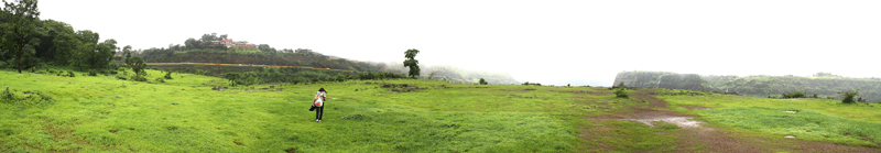 Shooting point, Kandala (panorama)