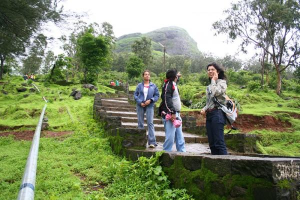 Karla caves trekking vegetation Lonavla Lonavala