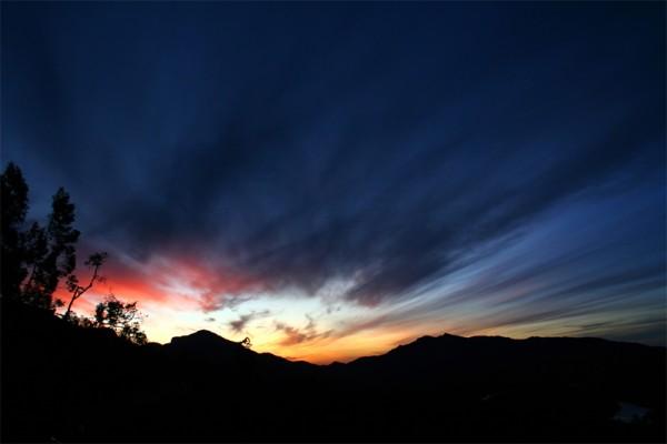 Munnar sunrise