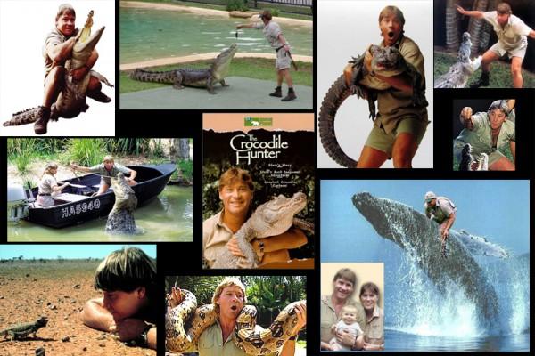 Steve Irwin Crocodile hunter