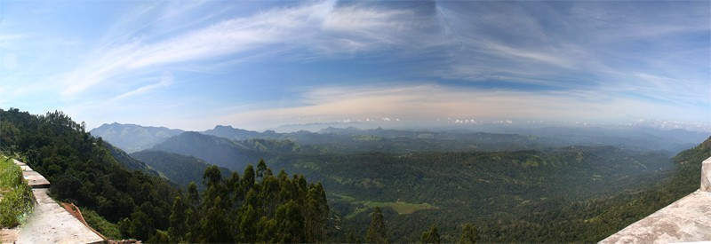 Western Ghats from Munnar